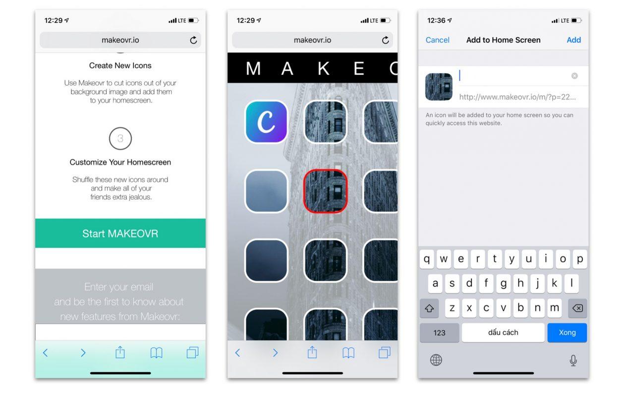 Tuỳ biến màn hình nền trên iOS